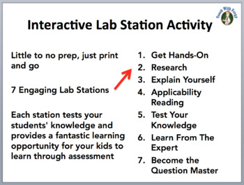 Atomic Model, Notation, and Atoms - 7 Engaging Lab Station Activities