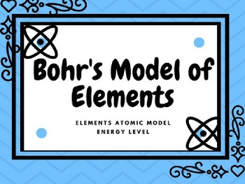 Atomic model of elements bohrs model periodic table by k 8 science atomic model of elements bohrs model periodic table urtaz Choice Image