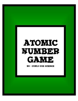 Atomic Number Game