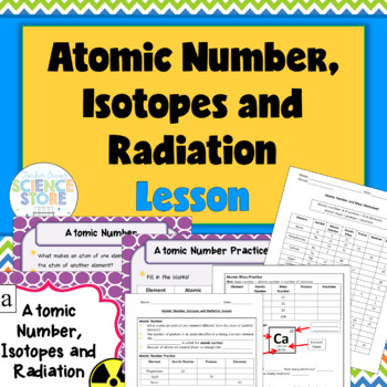 Atomic Number Lesson