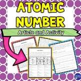 Atomic Number Reading and Activity