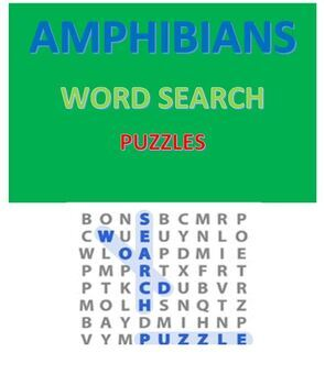 Atomic Number Word Search Puzzles