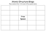 Atomic Structure BINGO
