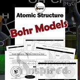 Atomic Structure - Bohr Model Drawings, Subatomic Particles