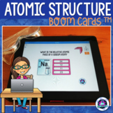 Atomic Structure Boom Cards (Distance Learning)