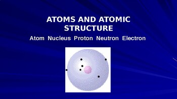 Atomic Structure fundamentals (Chemistry PowerPoint)