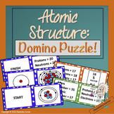 Atomic Structure Domino Puzzle