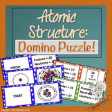 Atomic Structure Domino Puzzle