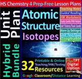 Atomic Structure Topic Bundle: 4 Essential Skills Guided L