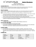 Atomic Structure MS Game Puzzle with Worksheet