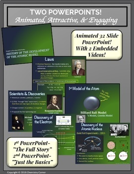 Atomic Structure: History of the Development of the Atomic Model