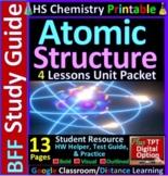 Atomic Structure: Homework Helper and Test Prep Guide {FREEBIE}
