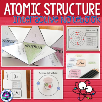 Atomic structure activity teaching resources teachers pay teachers atomic structure interactive notebook activities atomic structure interactive notebook activities urtaz Gallery