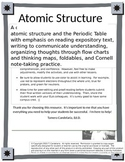 Atomic Structure Introductory Unit