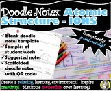 Atomic Structure - Ions - Chemistry Doodle Notes