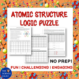 Atomic Structure Logic Puzzle - Great for Critical Thinking Skills