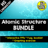 Atomic Structure, Number, Mass and Isotopes Lessons BUNDLE