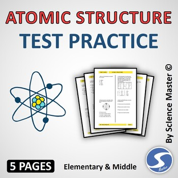 Atomic Structure Test Teaching Resources Teachers Pay Teachers