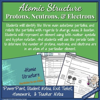 Atomic Structure: Protons, Neutrons, and Electrons