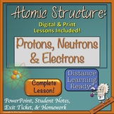 Atomic Structure: Protons, Neutrons, & Electrons |Distance