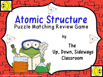 Atomic Structure Puzzle Matching Review Game