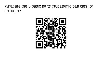 Atomic Structure QR Code Notes