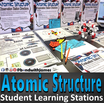 Atomic Structure Student Learning Stations