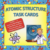 Atomic Structure Task Cards - Great for Physical Science / Chemistry Students!