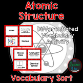 Atomic Structure Vocabulary Sort