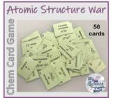 Atomic Structure War Card Game - Includes Google Slides Game!