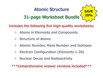Atomic structure worksheet teaching resources teachers pay teachers atomic structure worksheet bundle atomic structure worksheet bundle urtaz Gallery