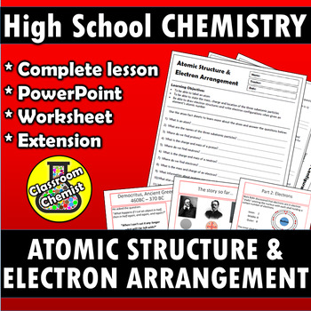 Atomic Structure and Electron Arrangement HS-PS1-1