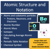 Atomic Structure and Notation Lesson - Chemistry PowerPoin