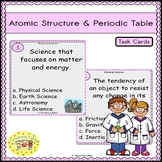 Atomic Structure and Periodic Table Task Cards