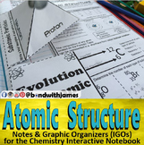 Atoms and Atomic Structure for Chemistry Interactive Noteb