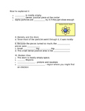 Atomic Theorists Guided Notes