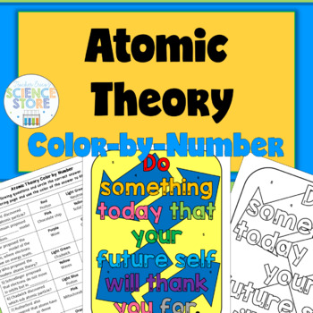 Atomic Theory Color-by-Number