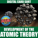 Atomic Theory Boom Cards   Distance Learning   Self-Grading