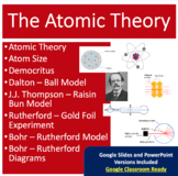 Atomic Theory and Model - Google Slides and PowerPoint Lesson