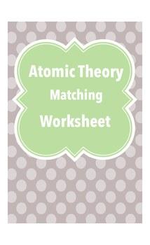 Atomic Theory Matching