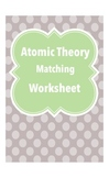 Atomic Theory Matching