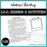 Atomic Theory Reading & Activities for I.S.N.