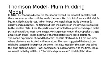 Atomic Theory Timeline PPT