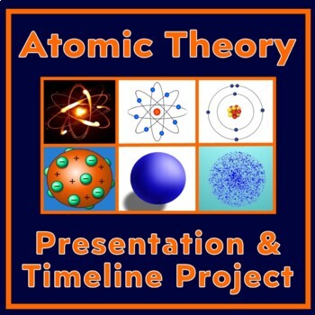 Atomic Theory Timeline Project (New) - Includes Google doc. & FREE slide show
