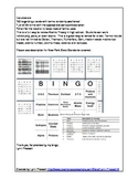 Atomic Theory and Structure Bingo
