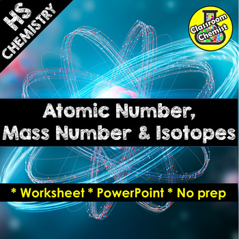 Atomic Number Mass Number Isotopes And Relative Atomic Mass Tpt