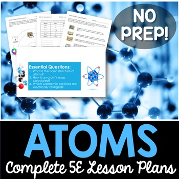 Atoms Complete 5E Lesson Plan