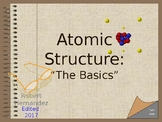 Chemistry I: Atoms. An Interactive Intro