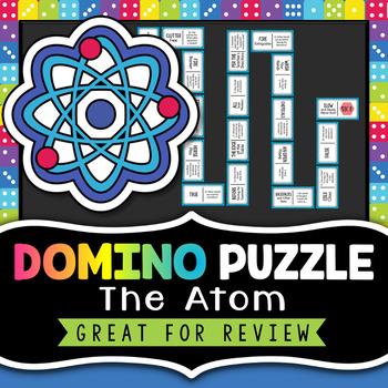 Atoms Activity - Domino Review Puzzle