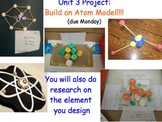 Atoms Advertisement & Model Project - Lesson Presentation, Rubrics